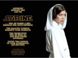 Princess Leia Party Invitations Star Wars Birthday Invitations Ideas Bagvania Free