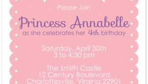 Princess Party Invitations Free Printable 10 Best Images Of Free Printable Princess Invitation