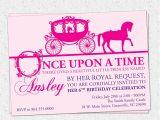 Princess Party Invitations Free Printable Princess Birthday Party Invitation Printable Girl Horse