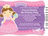 Princess Party Invite Wording Princess Birthday Party Invitation Wording Cimvitation