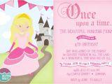 Princess Party Invite Wording Princess Birthday Party Invitations Printable Invites