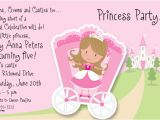 Princess Party Invite Wording Princess Party Invitations Template Best Template Collection