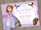 Princess sofia Birthday Invitation Template sofia the First Birthday Party Invitations Best Party Ideas