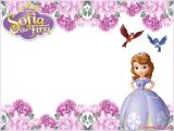 Princess sofia Birthday Invitation Template sofia the First Free Online Invitation Templates