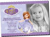 Princess sofia Birthday Invitation Template sofia the First Invitation Printable Birthday Party Invite