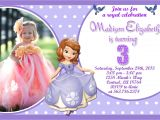 Princess sofia Birthday Invitation Template Unavailable Listing On Etsy