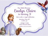 Princess sofia Party Invites 8 Best Images Of Free Printable Princess sofia Invitations