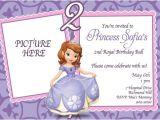 Princess sofia Party Invites Princess sofia Birthday Invitations Ideas Bagvania Free