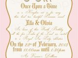 Princess Tea Party Invitation Wording Tea Party Princess Invitation