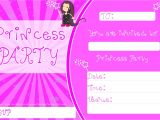 Princess Tea Party Invitations Free Printable Free Downloadable Princess Tea Party Invitation