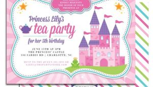 Princess Tea Party Invitations Free Printable Free Printable Princess Tea Party Invitation