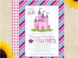 Princess Tea Party Invitations Free Printable Princess Tea Party Birthday Invitation Di Yellowbrickgraphics