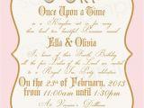 Princess Tea Party Invitations Free Printable Royal Princess Birthday Party Invitation Diy Digital