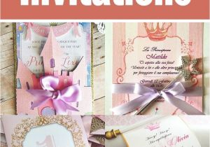 Princess themed Quinceanera Invitations Princess themed Quince Invitations Invitations the O