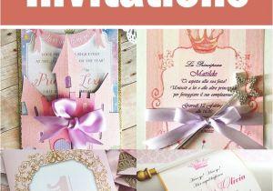 Princess themed Quinceanera Invitations Princess themed Quince Invitations Invitations the O