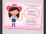 Print My Own Birthday Invitations Pink Cowgirl Birthday Party Printable Invitation Print
