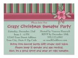 Print Your Own Christmas Party Invitations Create Your Own Ugly Sweater Christmas Party Personalized