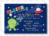 Printable Alien Birthday Invitations Alien Personalized Alien Personalized Party Invitation