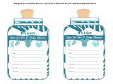 Printable Baby Boy Shower Invitations Baby Boy Shower Invitations Printable