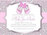 Printable Baby Girl Shower Invitations Girl Baby Shower Invitations Printable