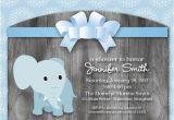Printable Baby Shower Invitations Elephant theme Elephant theme Baby Shower Invitation