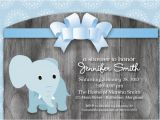 Printable Baby Shower Invitations Elephant theme Elephant theme Baby Shower Invitation
