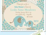 Printable Baby Shower Invitations Elephant theme Unavailable Listing On Etsy