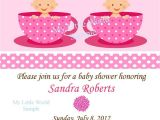 Printable Baby Shower Invitations Twins Twin Invitation Twin Birthday Invitations Twin Baby Shower