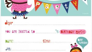 Printable Birthday Invitations Free Birthday Invitations