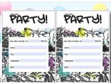 Printable Birthday Party Invitations for 12 Year Old Boy 12 Year Old Birthday Party Invitation Ideas Rusmart org