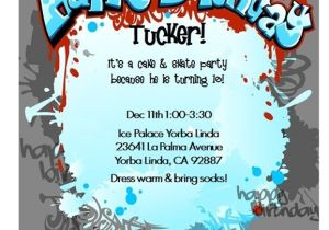 Printable Birthday Party Invitations for 12 Year Old Boy 17 Best Images About Rockstar Invitations On Pinterest
