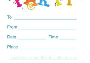 Printable Birthday Party Invitations for 12 Year Old Boy Printable Birthday Party Invitations