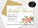 Printable Bridal Shower Invitations Free Wedding Shower Invitation Templates