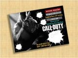 Printable Call Of Duty Birthday Invitations Diy Printable Custom Cod Birthday Party Invitation Call