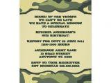 Printable Camo Birthday Invitations Free Printable Camouflage Invitations