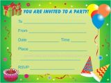 Printable Childrens Birthday Party Invitations Printable Boy Birthday Party Invitations Listmachinepro Com