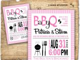 Printable Coed Baby Shower Invitations Bbq Baby Shower Invitation Baby Q Baby Shower Invite Coed