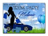 Printable College Trunk Party Invitations How to Select the Trunk Party Invitations Templates