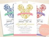 Printable Disney Bridal Shower Invitations Best 25 Disney Bridal Showers Ideas On Pinterest