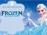 Printable Frozen Birthday Invitations Free Printable Frozen Invitations