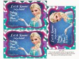 Printable Frozen Birthday Invitations Frozen Colored Free Printable Party Kit Oh My Fiesta