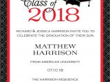 Printable Graduation Invitations 2018 Graduation Party Invitations High School or College