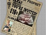 Printable Harry Potter Baby Shower Invitations Custom Harry Potter Baby Shower Invitation the by