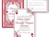 Printable Las Vegas Wedding Invitations Perfect Ideas Playing Card Wedding Invitations Las Vegas