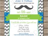 Printable Mustache Birthday Invitations Mustache Party Invitations Little Man Party