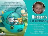 Printable Octonauts Birthday Invitations Octonauts Birthday Invitations Template