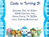 Printable Octonauts Birthday Invitations Octonauts Invitation and Thank You Card Printable