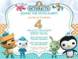 Printable Octonauts Birthday Invitations Printable Boy Girl Birthday Invitations Octonauts