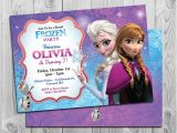Printable Personalized Frozen Birthday Invitations Frozen Birthday Invitation Printable Frozen Birthday