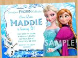 Printable Personalized Frozen Birthday Invitations Frozen Invitation Frozen Birthday Invitation Disney Frozen